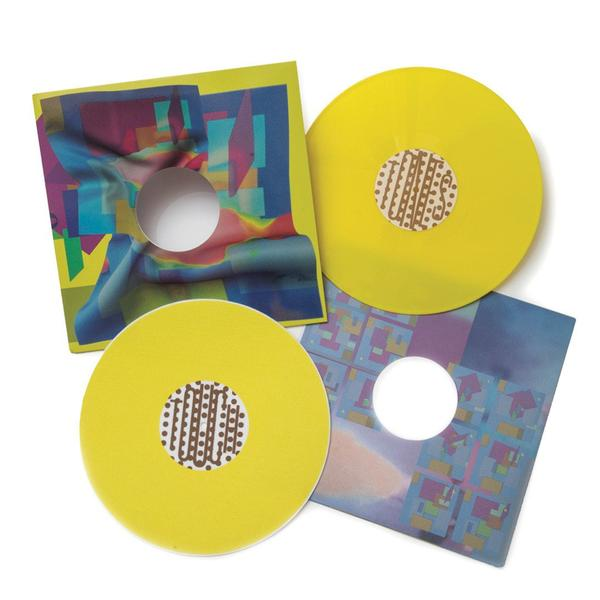The Quiet Life x Touch Tones - Virgo on Virgo LP Yellow Vinyl & Slipmat - The Giant Peach