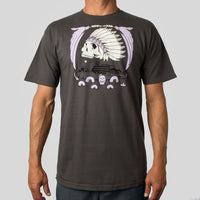 SuperFishal (Jeremy Fish) - The Rock Men's Shirt, Charcoal - The Giant Peach