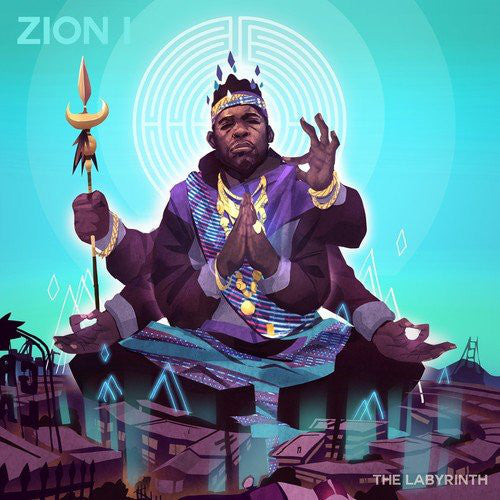 Zion I - The Labyrinth LP Vinyl (autographed by Zumbi) - The Giant Peach