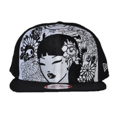 tokidoki - The Orient Snapback Hat, Black - The Giant Peach - 1