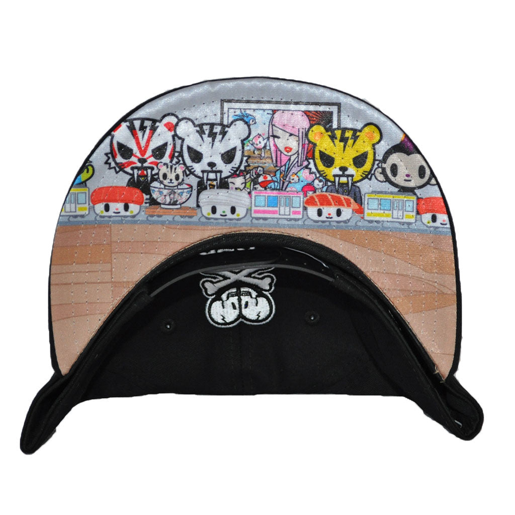 tokidoki - The Orient Snapback Hat, Black - The Giant Peach - 2