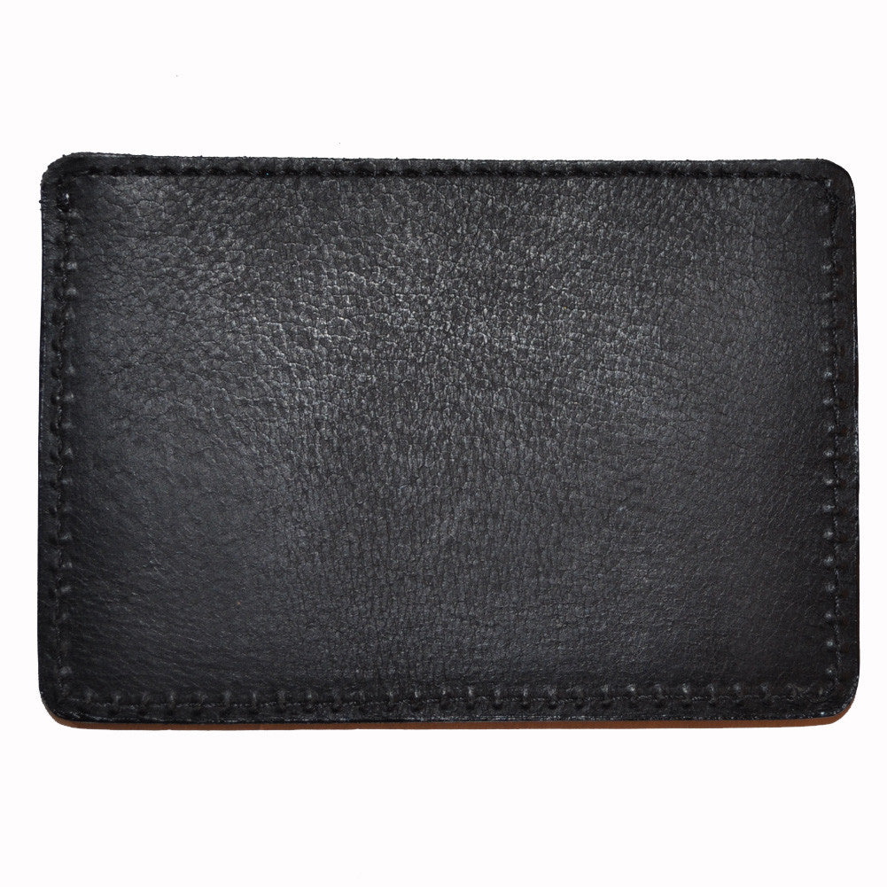 The Quiet Life - Leather Card Holder, Black - The Giant Peach