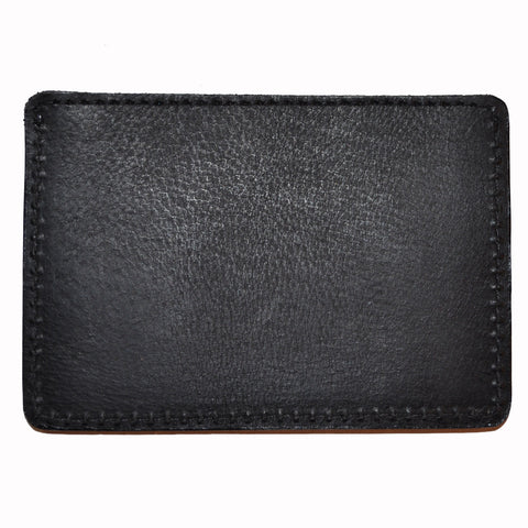 The Quiet Life - Leather Card Holder, Black