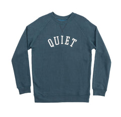 The Quiet Life - Archfelt Men's Crewneck, Blue - The Giant Peach