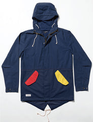 The Quiet Life - Bauhaus Fishtail Men's Jacket, Navy - The Giant Peach