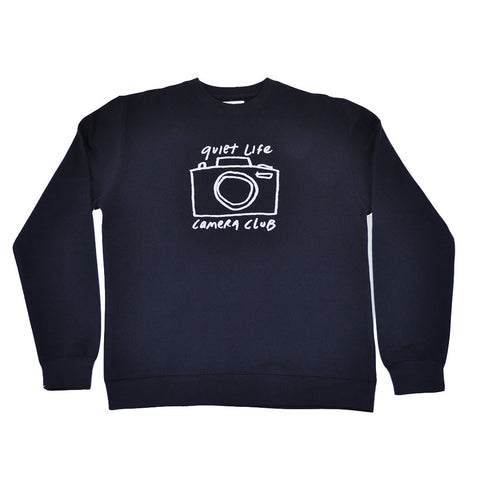 The Quiet Life - Camera Club Men's Crewneck, Navy