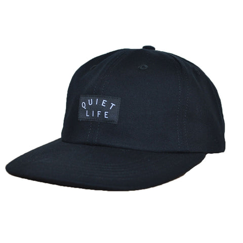 The Quiet Life - Field Men's Polo Hat, Black