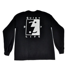 The Quiet Life - Finder Men's L/S Tee, Black - The Giant Peach