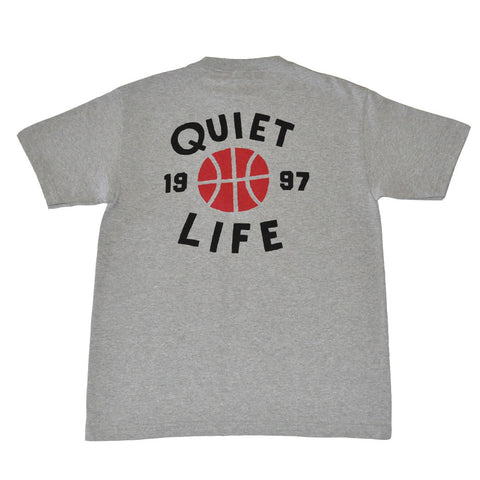 The Quiet Life - Hoops Men's Shirt, Heather Grey