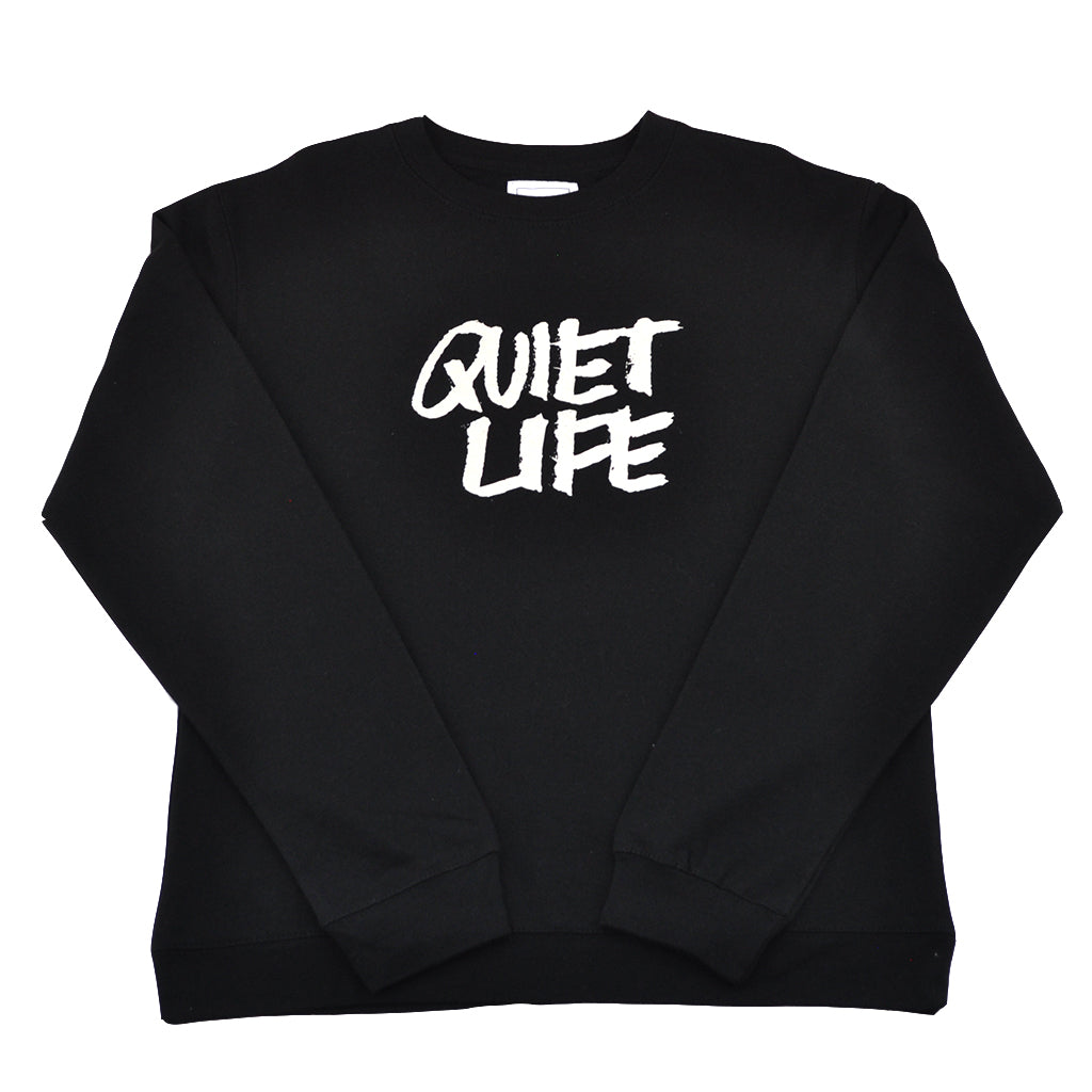 The Quiet Life x James Jarvis - Jarvis Men's Crewneck, Black - The Giant Peach