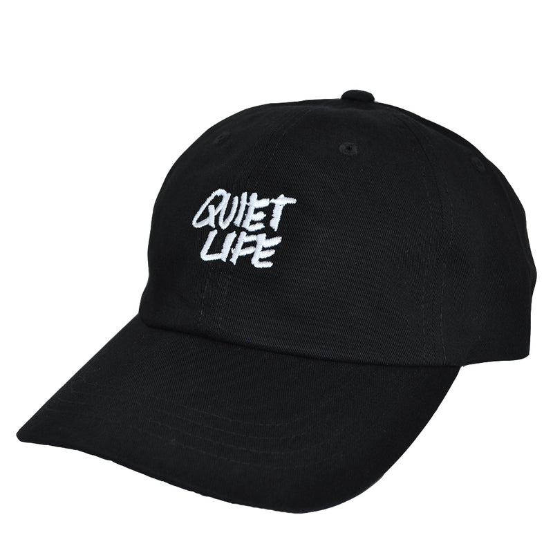 The Quiet Life x James Jarvis - Jarvis Dad Hat, Black - The Giant Peach