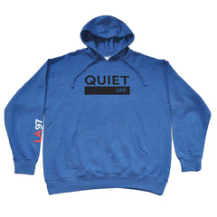 The Quiet Life - League Pullover Men's Hoodie, Royal Heather - The Giant Peach