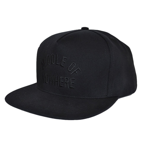 The Quiet Life - Middle Of Nowhere Men's Snapback, Black