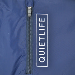 The Quiet Life - Park Men's Windbreaker Jacket, Navy/Coral/White