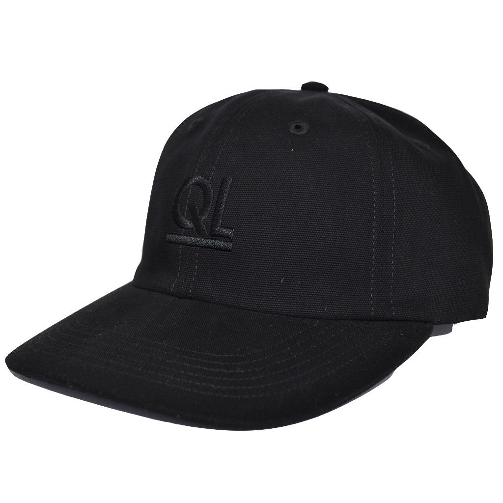 The Quiet Life - Periodic Men's Polo Hat, Black - The Giant Peach