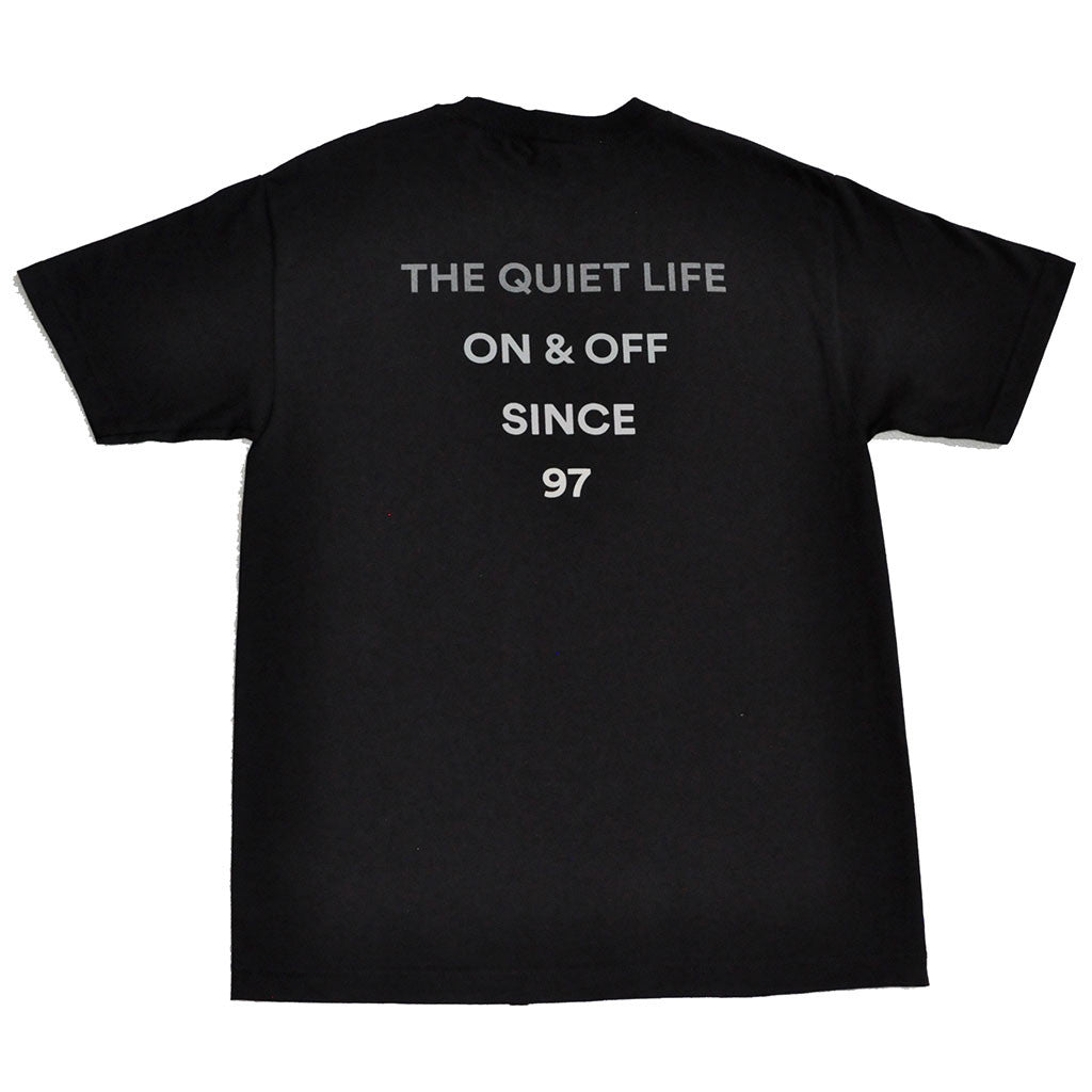 The Quiet Life - Pyramid Men's Shirt, Black - The Giant Peach - 1