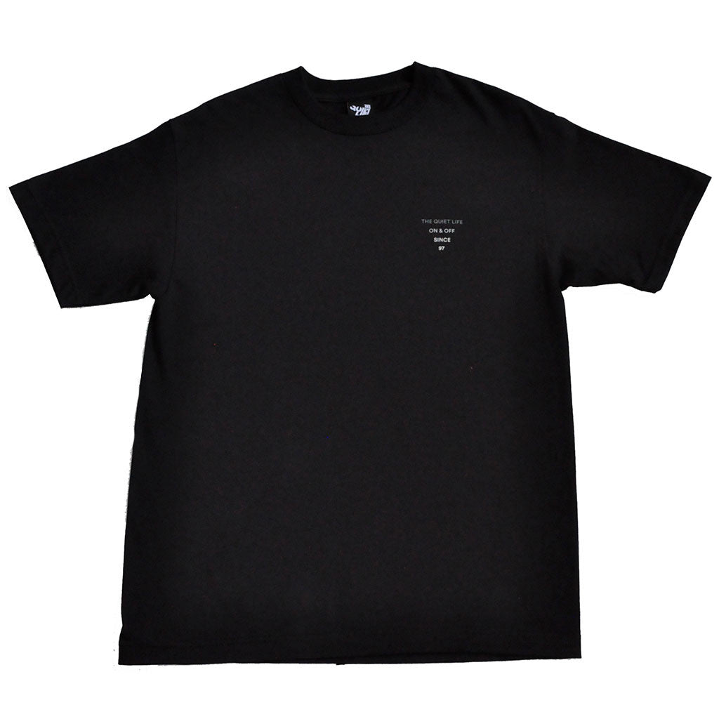 The Quiet Life - Pyramid Men's Shirt, Black - The Giant Peach - 2