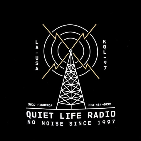 The Quiet Life - Radio Pullover Men's Hoodie, Black