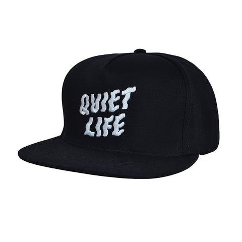 The Quiet Life - Shakey Snapback, Black - The Giant Peach