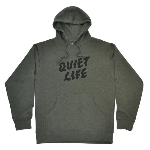 The Quiet Life - Shakey Pullover Men's Hoodie, Heather Army