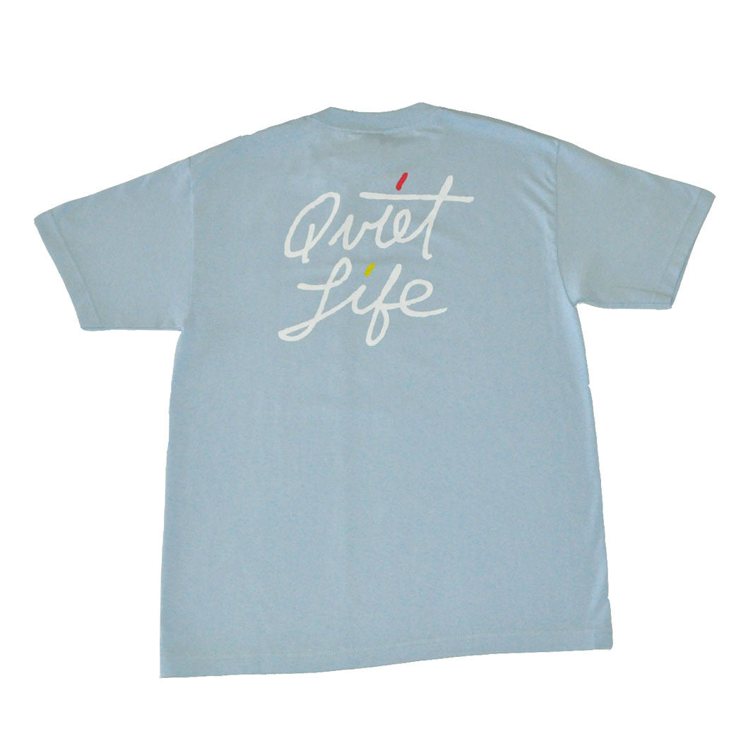 The Quiet Life - Splash Men's Shirt, Light Blue - The Giant Peach