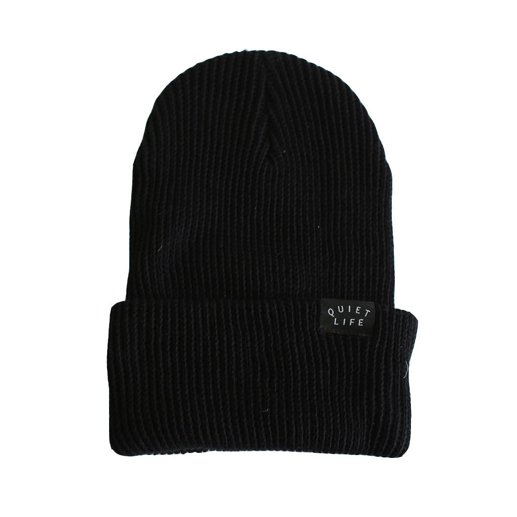 The Quiet Life - Standard Beanie, Black