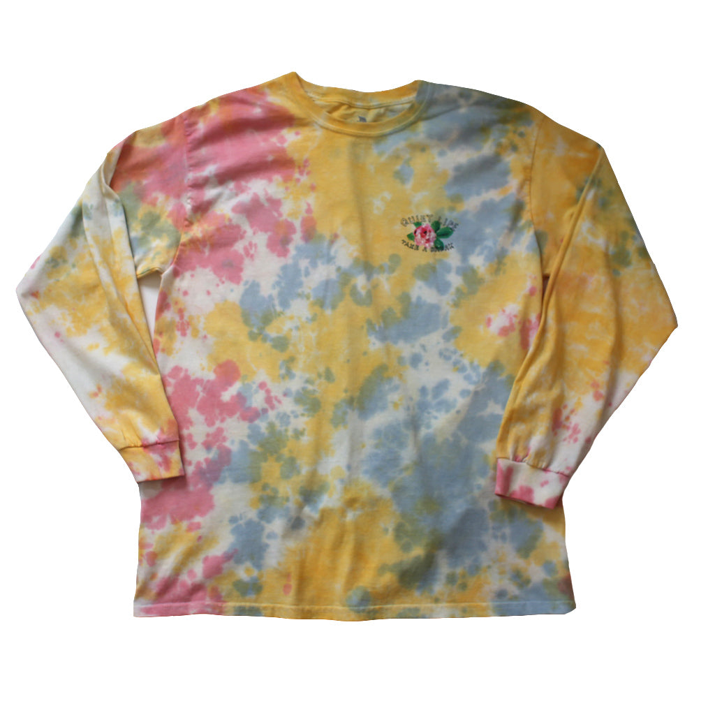 The Quiet Life - Take a Break Men's L/S Tee, Tie Dye