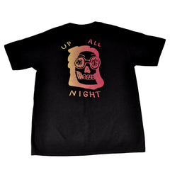 The Quiet Life - Up All Night Men's Shirt, Black - The Giant Peach