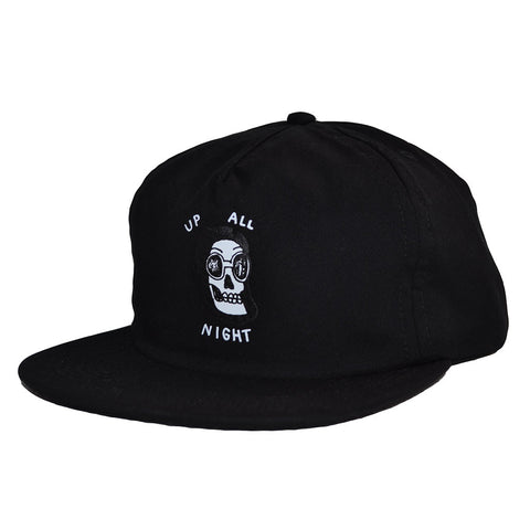 The Quiet Life - Up All Night Relaxed Men's Snapback, Black