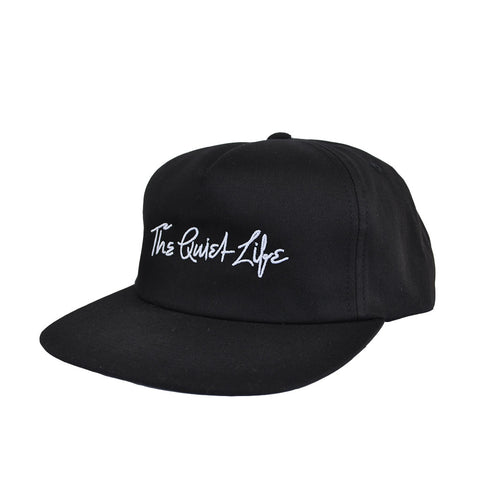 The Quiet Life - Yawn Script Men's Lowrise Unstructured Snapback, Black