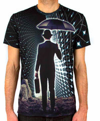 Imaginary Foundation - The Trip Sublimation Men's Tee - The Giant Peach - 1