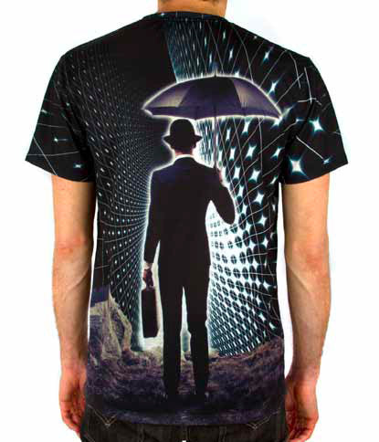 Imaginary Foundation - The Trip Sublimation Men's Tee - The Giant Peach - 2