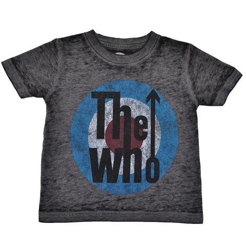 The Who - Logo Toddler Tee, Distressed Black