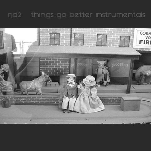 RJD2 - Things Go Better Instrumentals, CD