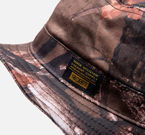 10Deep - Thompson Fisherman's Bucket Hat, Hunting Camo - The Giant Peach - 3