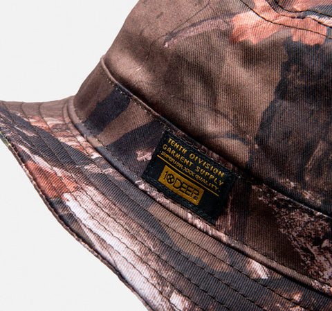 10Deep - Thompson Fisherman's Bucket Hat, Hunting Camo