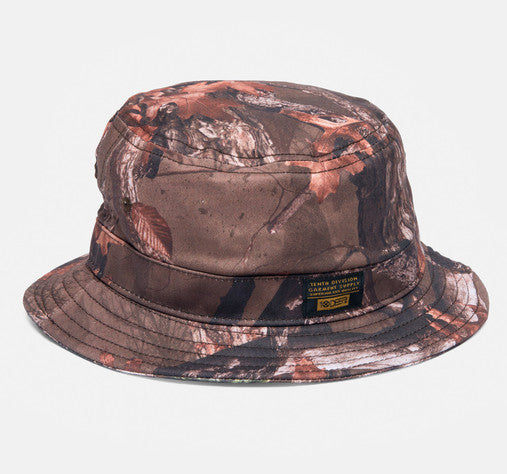 10Deep - Thompson Fisherman's Bucket Hat, Hunting Camo - The Giant Peach - 1