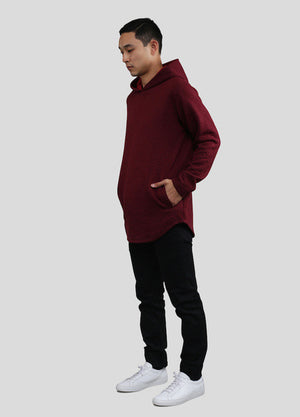 Akomplice VSOP -  Thor Men's Hoodie, Maroon - The Giant Peach