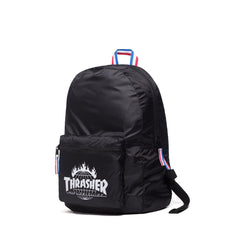 HUF x Thrasher TDS Packable Backpack, Black