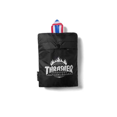 HUF x Thrasher TDS Packable Backpack, Black - The Giant Peach