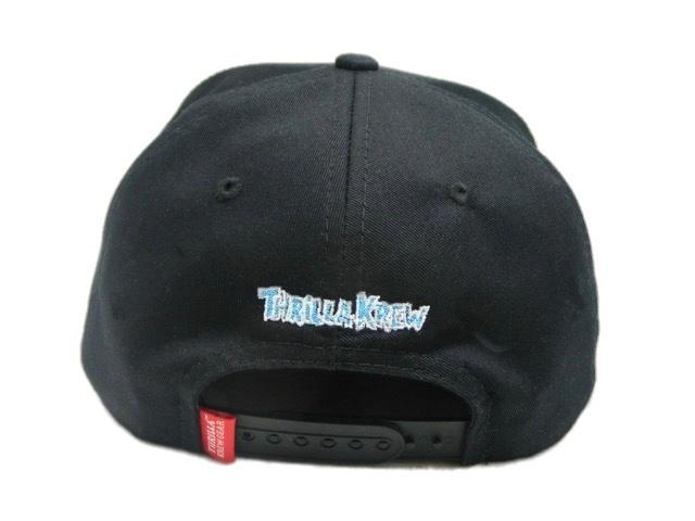 Thrilla Krew - Walking Thrilla Snapback, Black