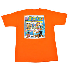Thrilla Krew - Hardcore Detective Men's Tee, Orange