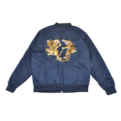10Deep -  Tiger Claw Men's Jacket, Navy - The Giant Peach