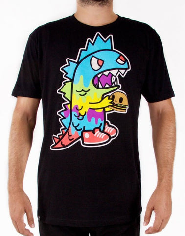 tokidoki TKDK - Monster Munchies Men's Shirt, Black