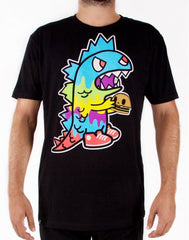 tokidoki TKDK - Monster Munchies Men's Shirt, Black - The Giant Peach - 1