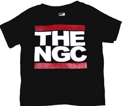 The Nitty Gritty Committee - Audience Infant & Toddler Tee, Black