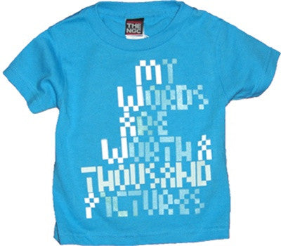 The Nitty Gritty Committee - Thousands Infant & Toddler Tee, Turquoise - The Giant Peach
