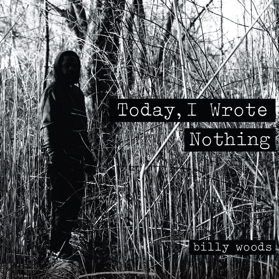Billy Woods - Today, I Wrote Nothing, CD - The Giant Peach