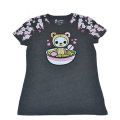 tokidoki - Biscotti Ramen Women's Tee, Dark Heather Grey