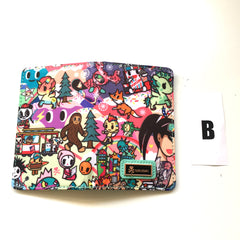 tokidoki - California Dreamin' Small Bifold Wallet - The Giant Peach